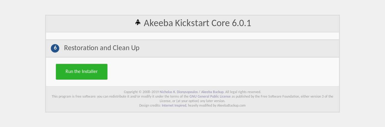 Akeeba Backup verwenden