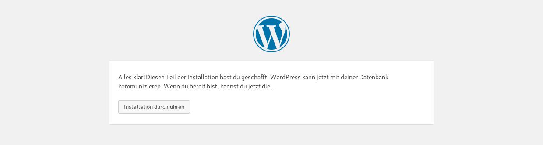 Wordpress Installer 3