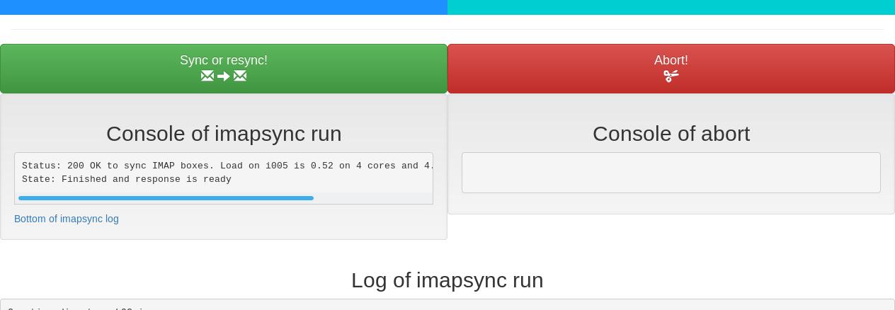 ImapSync E-Mail-Umzug