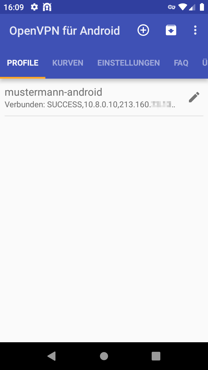 OpenVPN unter Android