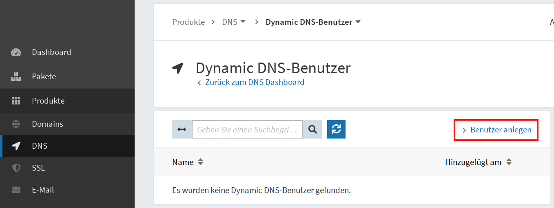 Dynamic DNS einrichten 02