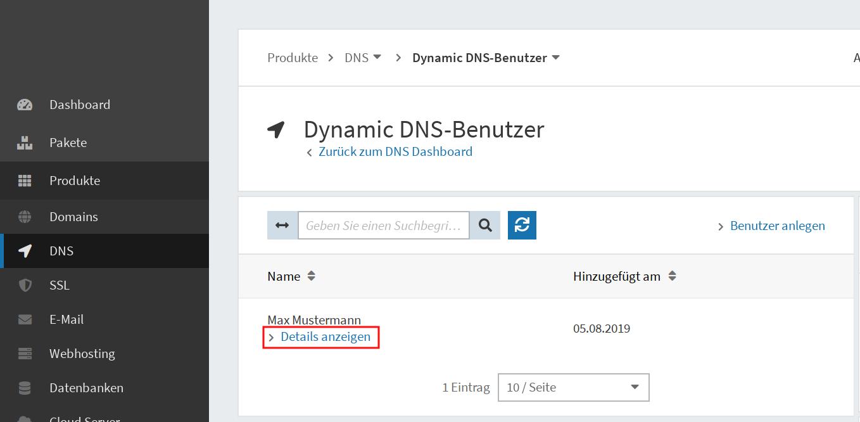 Dynamic DNS einrichten 04