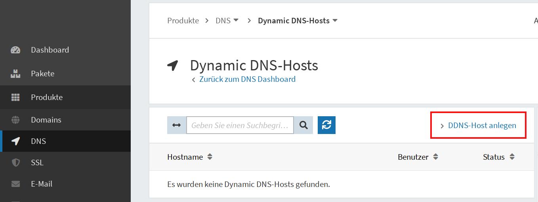 Dynamic DNS einrichten 06