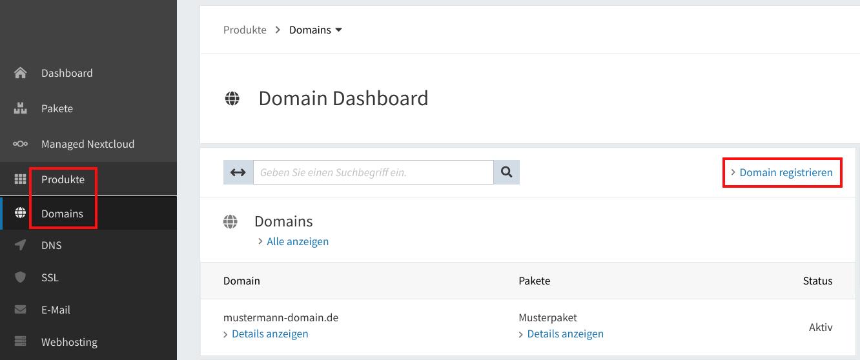 Domain-Registrierung 01