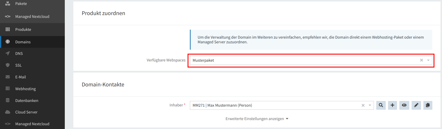 Domain-Registrierung 05