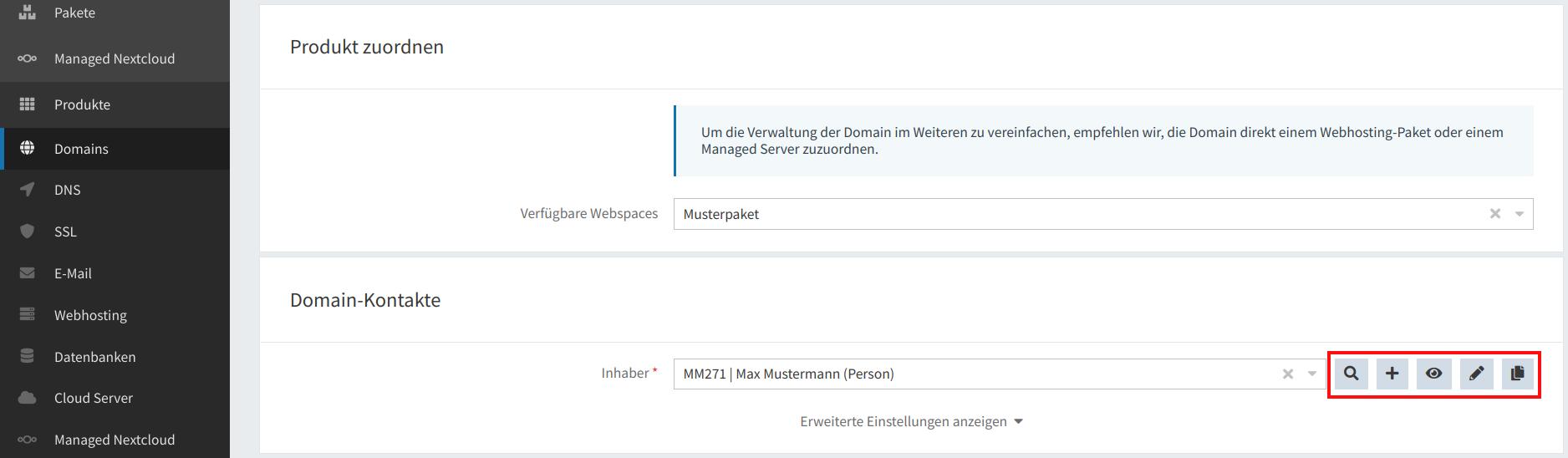 Domain-Registrierung 06