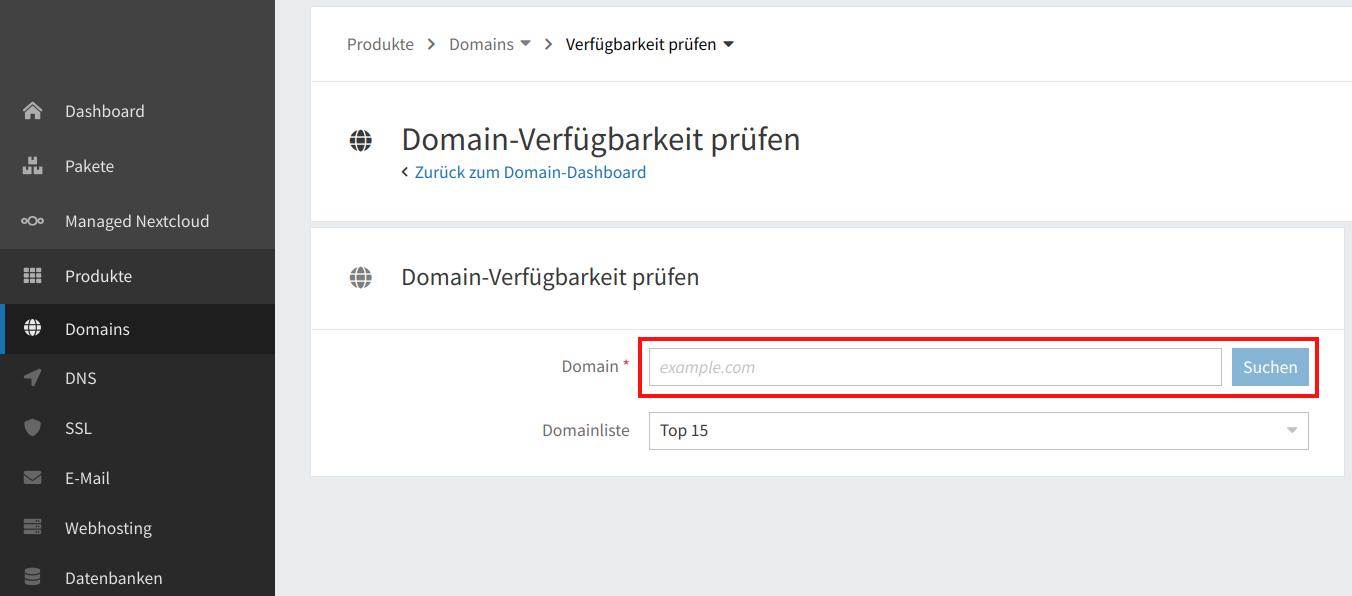Domain-Verfügbarkeit 02