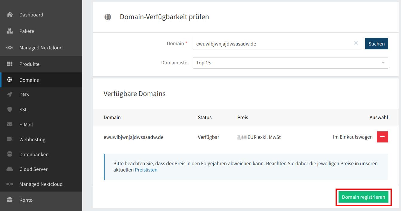 Domain-Verfügbarkeit 03