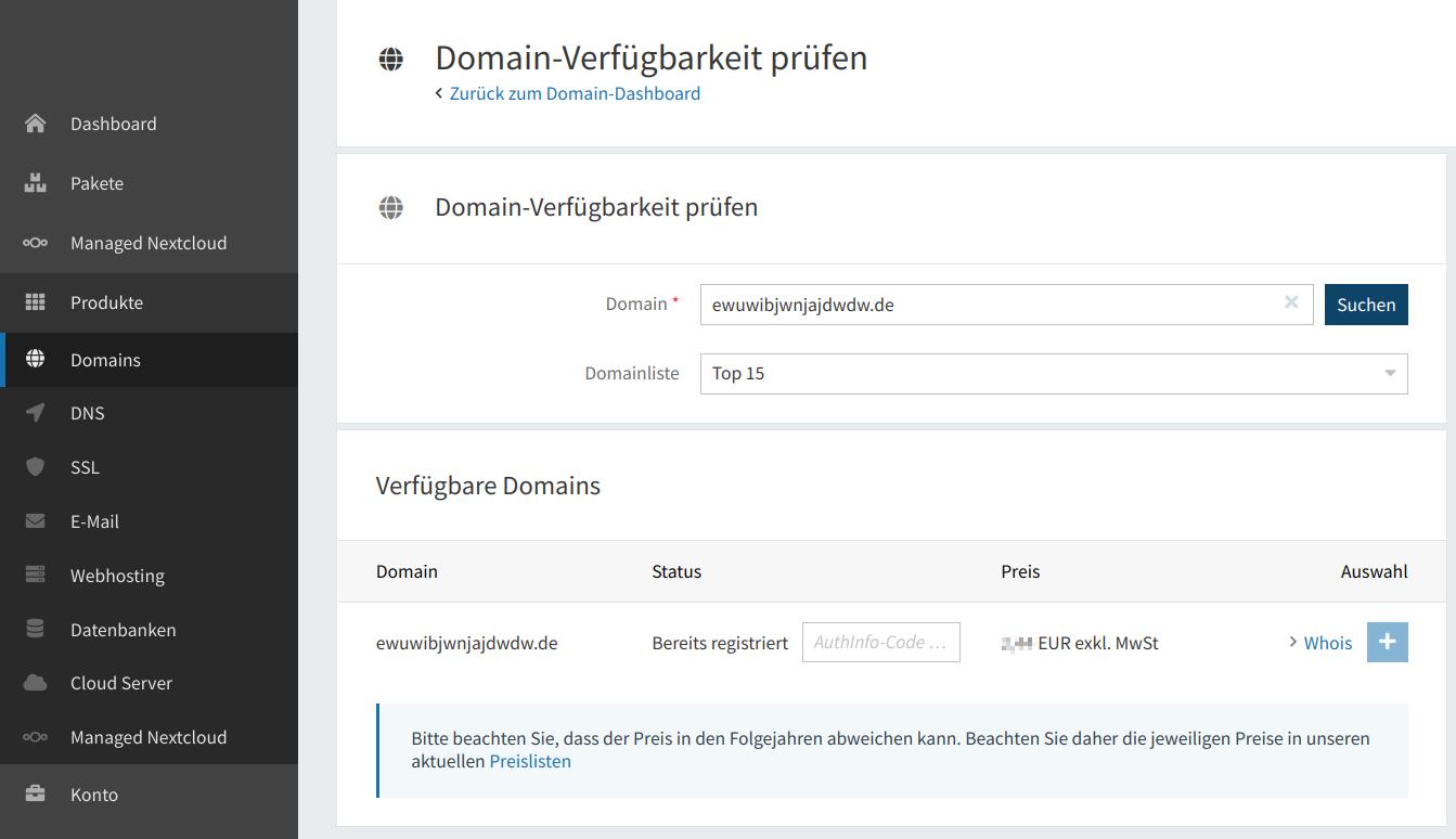 Domain-Verfügbarkeit 04