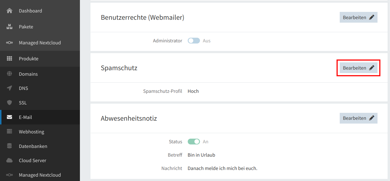 Spamschutz 02