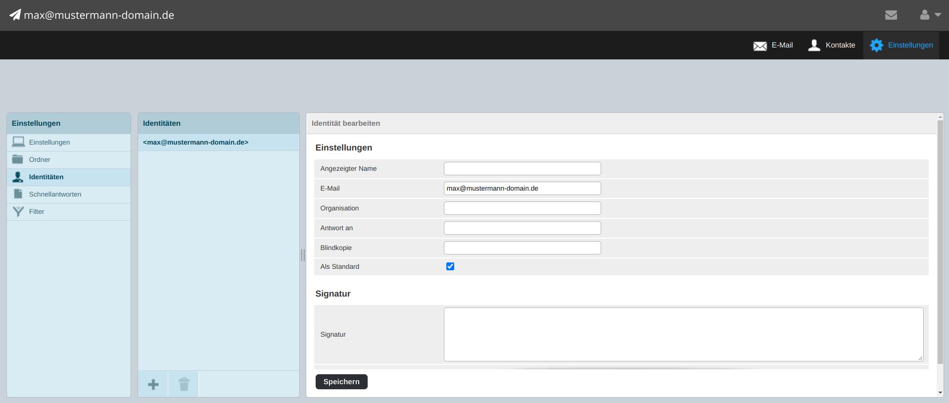Webmailer Signatur 03