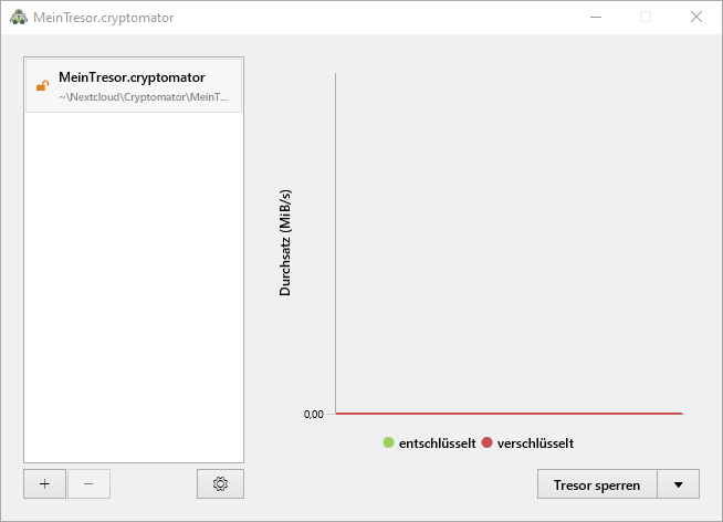 Cryptomator unter Windows