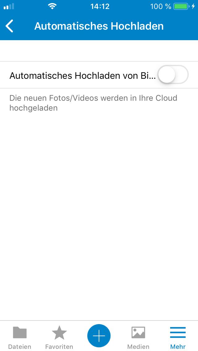 Nextcloud iOS App Login