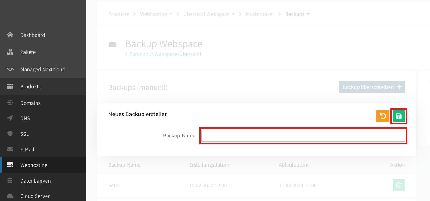 Webspace-Backup anlegen 04