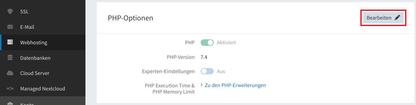PHP-Uploadgröße 02