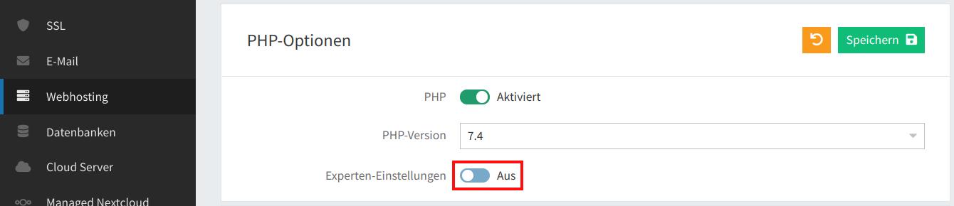 PHP-Uploadgröße 03