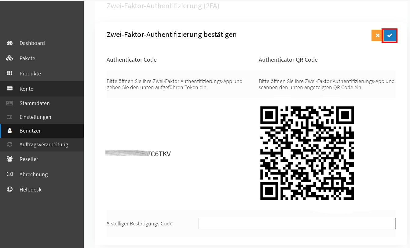 Einrichtung einer Zwei-Faktor-Authentifizierung 03